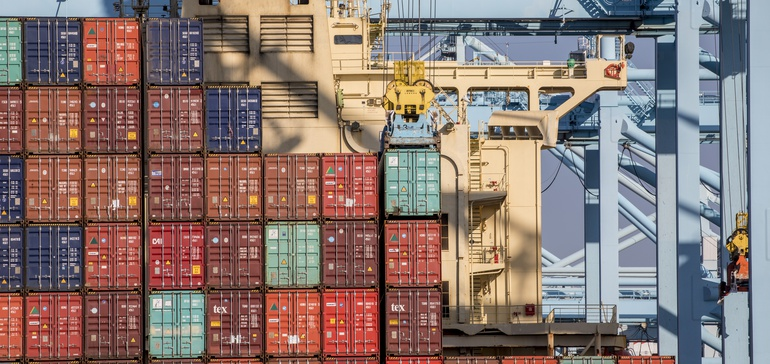 Container Movement Lags at Port of Los Angeles as Unseasonably High Imports Arrive